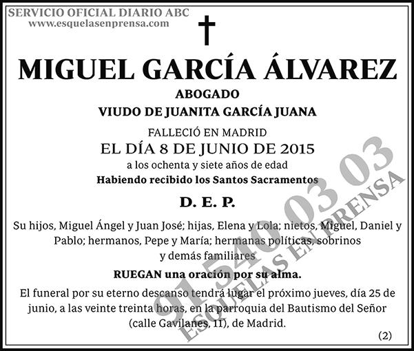 Miguel García Álvarez